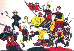 Voi trong văn hóa Bắc Ninh