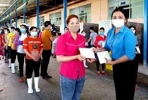 LÐLÐ TP Cần Thơ hỗ trợ cho người lao động bị ảnh hưởng dịch COVID-19