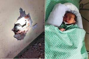 Xác định người mẹ vứt bỏ bé sơ sinh ở khe tường