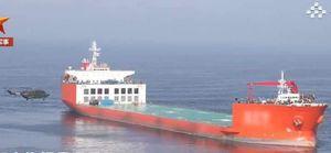 Bắt chước Mỹ, Hải quân Trung Quốc biến tàu hàng hạng nặng thành căn cứ trên biển