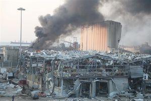 Kuwait giúp Liban xây lại hầm ngũ cốc bị phá hủy trong vụ nổ Beirut
