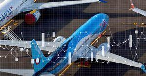 COVID-19 khiến gần một nửa máy bay toàn cầu không thể cất cánh