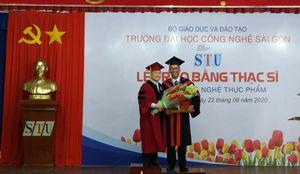 STU tổ chức Lễ trao bằng tốt nghiệp Thạc sĩ Công nghệ Thực phẩm
