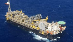 Petrobras tiếp tục phát triển mỏ nước sâu Mero lưu vực Santos