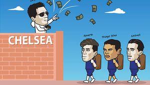 Chelsea 'vung tiền' chuyển nhượng, fan MU hụt hẫng