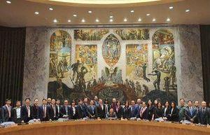 Phái đoàn Việt Nam tại LHQ: Đẩy mạnh công tác ngoại giao đa phương và hội nhập quốc tế