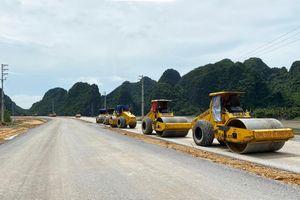 Đường bao biển Hạ Long - Cẩm Phả: Thi công đạt trên 60% khối lượng các hạng mục