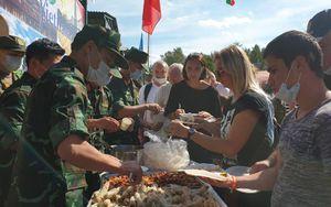 Món ăn Việt - đặc sản tại Army Games 2020