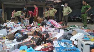 Gia Lai: Giám sát tiêu hủy trên 10 tấn hàng hóa không đủ điều kiện lưu thông trên thị trường