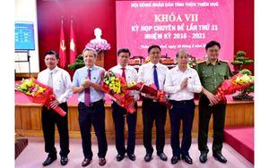 Thừa Thiên Huế có tân Phó Chủ tịch UBND tỉnh nhiệm kỳ 2016-2021