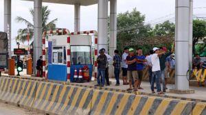 Khẩn trương xử lý tình trạng mất an ninh trật tự tại trạm BOT Ninh Xuân