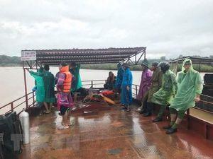 Gia Lai: Lật thuyền trên sông Sê San, một người mất tích
