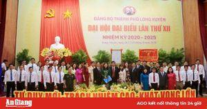 Đồng chí Đặng Thị Hoa Rây đắc cử Bí thư Thành ủy Long Xuyên khóa XII (nhiệm kỳ 2020-2025)