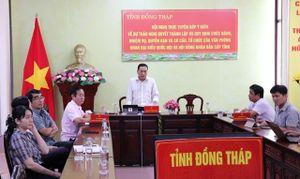 Lấy ý kiến về thành lập Văn phòng Đoàn đại biểu Quốc hội và Hội đồng nhân dân cấp tỉnh