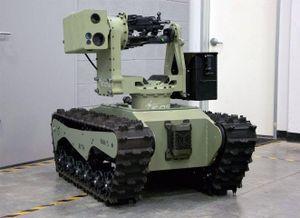 Australia phát triển robot chiến đấu mặt đất nội địa