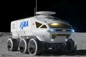 Lunar Cruiser - xe thám hiểm Mặt Trăng của Toyota