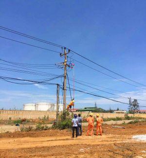 PC Quảng Nam cung ứng điện đảm bảo tiến độ thi công công trình trọng điểm