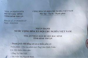 Bình Thuận: Từ 'diễn tập' trước thực nghiệm hiện trường đến dấu hiệu thông cung