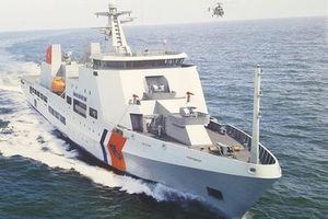 Nguyên mẫu tàu tuần tra hiện đại DN-4000 của Cảnh sát biển Việt Nam