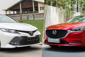 Chọn Mazda6 2.0L Premium hay Toyota Camry 2.0G?