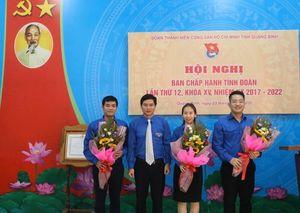 Anh Đặng Đại Bàng được bầu giữ chức Bí thư Tỉnh Đoàn Quảng Bình
