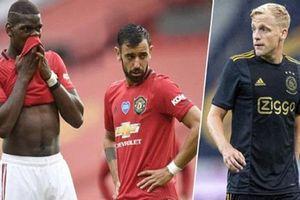 Tân binh Van de Beek có gì khác biệt so với các tiền vệ của Man United?