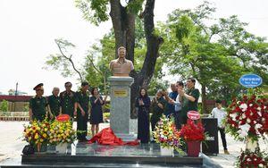 Khánh thành tượng Anh hùng Lực lượng vũ trang Nhân dân Trịnh Tố Tâm