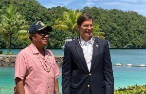 Đảo quốc Palau mời Mỹ lập căn cứ quân sự giữa lo ngại về Trung Quốc