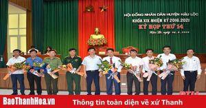 Đồng chí Nguyễn Minh Hoàng được bầu giữ chức Chủ tịch UBND huyện Hậu Lộc