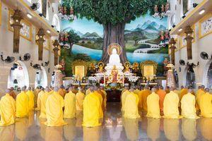 Phật giáo Q.Thủ Đức tác pháp Tự tứ