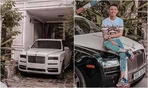Đại gia Minh Nhựa khoe 'sương sương' 2 chiếc Rolls Royce, than nhà nhỏ không có chỗ để xế hộp tiền tỷ
