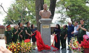 Khánh thành bức tượng Anh hùng lực lượng vũ trang Trịnh Tố Tâm