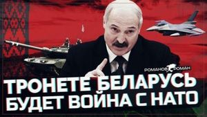 Vùng Baltic làm tốt lắm! Belarus trở thành đồng minh của Nga