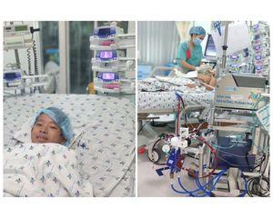Cứu cậu bé 12 tuổi bị viêm cơ tim cấp