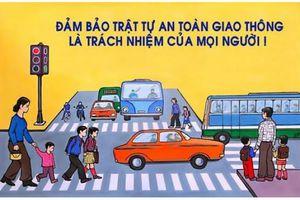 Hôm nay, bắt đầu Cuộc thi trắc nghiệm 'Chung tay vì an toàn giao thông'