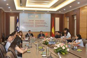 Bảo tàng Hồ Chí Minh ký kết hợp tác với Viện Di sản Ben Gurion (Israel)