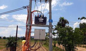 Đóng điện đường dây trung hạ áp và trạm biến áp Hành Thuận 9, 10