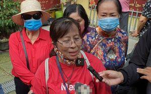Nước mắt nghẹn ngào khi tìm được tro cốt người thân ở chùa Kỳ Quang 2