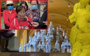 Người phụ nữ tìm thấy tro cốt tại chùa Kỳ Quang 2: 'Cảm xúc của tôi rất khó tả, chỉ mong lấy được hũ cốt ra nhanh nhất có thể'