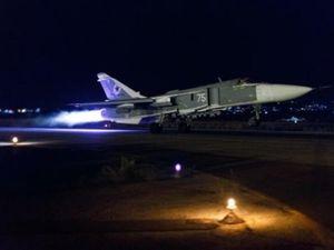 Chiến đấu cơ Nga không kích dữ dội thành trì của phiến quân Syria