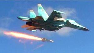 Không lực Nga dội bom dồn dập thành trì quân thánh chiến ở Latatkia