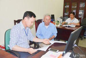Kiểm tra công tác cải cách hành chính tại huyện Anh Sơn