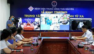 Thái Nguyên mở trung tâm khám bệnh từ xa, kết nối cơ sở y tế 13 tỉnh
