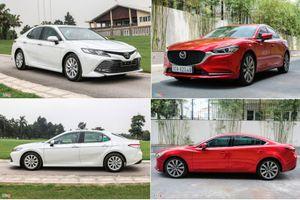 Mua xe sedan hạng D, chọn Toyota Camry 2.0G hay Mazda6 2.0L Premium?