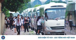 Hà Nội phát hiện, lập biên bản xử phạt 3 xe đưa đón học sinh không phép