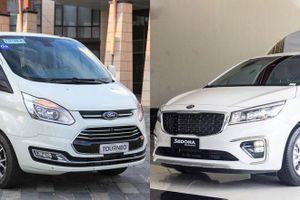 Mua xe MPV tầm giá 1 tỷ đồng, chọn Ford Tourneo hay Kia Sedona?