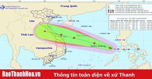 Công điện khẩn của Chủ tịch UBND tỉnh Thanh Hóa về việc chủ động ứng phó với cơn bão số 5