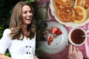 Bữa ăn sáng giúp Công nương Kate có thân hình mảnh mai