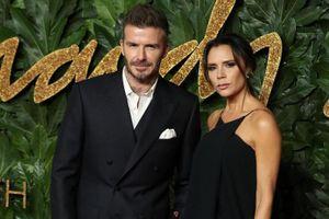 David Beckham không thể tham dự show thời trang của vợ