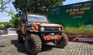 Giải đua xe địa hình đầu tiên tổ chức năm 2020 ở Việt Nam